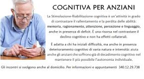 Anziani e memoria: non aspettare, meglio intervenire con la stimolazione cognitiva