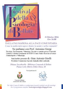 festival psicologia bollate mafia 2016
