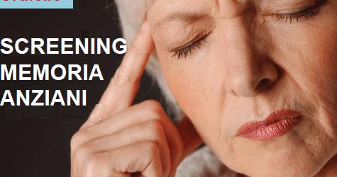 Screening gratuito per la memoria: un'iniziativa utile per gli anziani